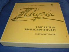 Chopin Compl Works BOX