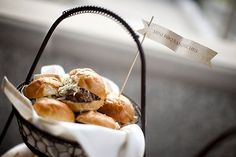 comfort food as wedding food