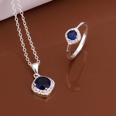 2014 New!!! Free Shipping Silver Plated Crystal Necklace