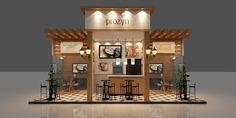 Exhibition Plan, Exhibition Stall, Exhibition Stand Design, Kiosk Design, Store Design, Retro Design, Creative Design, Coffee Shop, Architecture Design