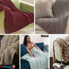 """I'm just learning how to knit. I've done some arm knittingrecently, but nothing with needles. A few weeks ago, I decided that I wanted tolearn how to knit """"for real."""" But I knew that I needed something simple to start. So, I went on a hunt and rounded up a bunch of knitting patterns for …"""