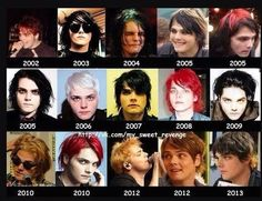 the many stages of gerard way