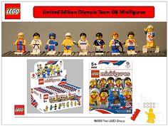 Limited Edition Olympics Lego Men!