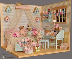 OOAK Diorama Romantic Room | by Bimba Bambolina (Yolanda)