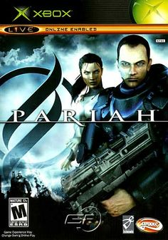 Title: Pariah Publisher: Hip Interactive Platform: XboxGenre: ShooterRelease Date: 5/4/2005Overview: The year is 2520 and you're a military doctor who goes by the name Jack Mason. You must transport a quarantined patient to safety. Sounds simple enough, but this FPS will have you on your toes. Fortunately, you'll have a massive, upgradeable arsenal comprised of a frag rifle, grenade launcher, rocket launcher, bone saw, and more. Collect weapon energy cores (WECs) to beef up your health and…