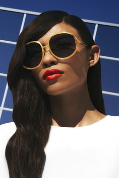 fb87f72a9652 Beyond the Sheltering Sky  Minimalism in Gold with Hotel De Ville Vintage  Christian Dior Sunglasses