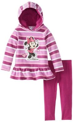 Disney Little Girls' Minnie Mouse 2 Piece Striped Pulloverhood and Pant, Purple, 2T Disney http://www.amazon.com/dp/B00D4KGWC8/ref=cm_sw_r_pi_dp_U738tb1J9MMJG
