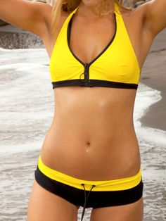 Sport Swimsuit Separates  by Sauvage 2012 Swimwear