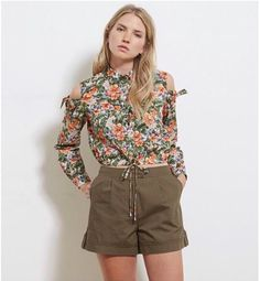 Get your wardrobe ready for the warm weather with our kitty shorts! #khaki #love #fashion #love