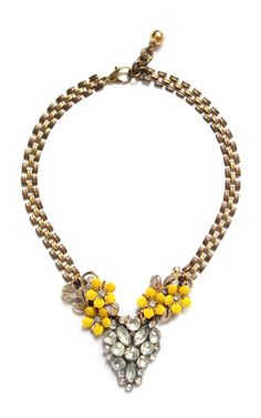 Shop 50+Year+Necklace+Featuring+Vintage+Parts+From+1860-1960+by+Lulu+Frost+for+Preorder+on+Moda+Operandi