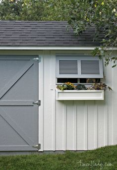 Tuff Shed Facelift by Ace Blogger @4men1Lady