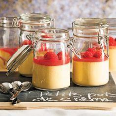 Petits pots de crème irlandaise - Recettes - Cuisine et nutrition - Pratico Pratique