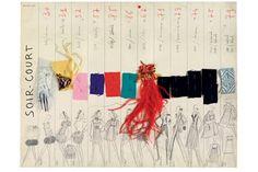 Yves Saint Laurent catwalk line-up