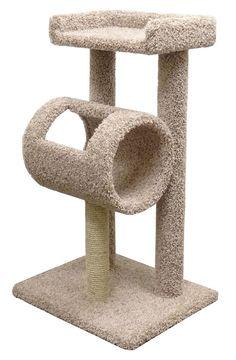 New Cat Condos Premeire Cat Climber Cat Tree (Beige) - Hunde und Katzen Cat Tree Condo, Cat Condo, Sphynx, Cat Climber, Cat Activity, Cat Towers, Owning A Cat, Pet Furniture, Cat Supplies