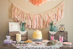 LOVE this girl's birthday decor.  God bless {our} nest: LK's First Birthday Party!