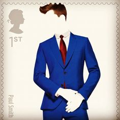 Paul Smith Royal Mail stamp