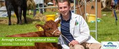 Tomorrow is the Armagh County Show ! Get along to Gosford Park for a fantastic family day out.  www.armaghshow.com