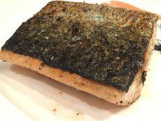 Crispy salmon fish ❤️