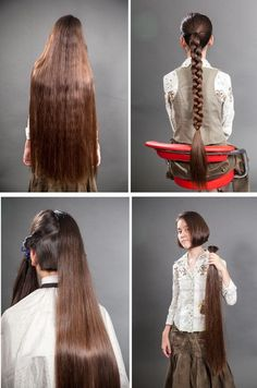 Before and After Haircut 629237379165834405 - beforeafter. Long To Short Hair, Long Curly Hair, Long Hair Cuts, Big Hair, Short Hair Styles, Long Hair Ponytail, Braids For Long Hair, Beautiful Long Hair, Gorgeous Hair