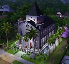 Mod The Sims - Church of the Palms Wedding Chapel