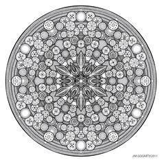 Mandala drawing 26 by Mandala-Jim.deviantart.com on @deviantART