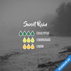 Blend Recipe: 4 drops Eucalyptus, 3 drops Lemongrass, 3 drops Lemon