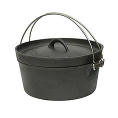 Introducing CAST IRON DUTCH OVEN  4 QT  WITHOUT LEGS Case of 2. Great product and follow us for more updates!