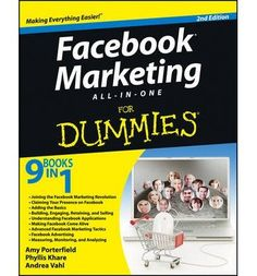 Introducing Facebook Marketing AllinOne For Dummies For Dummies Computers Paperback  Common. Buy Your Books Here and follow us for more updates!