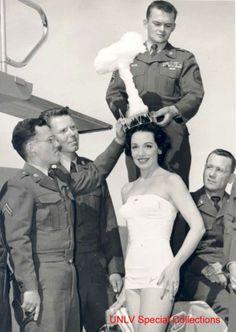 "Miss ""Bombe Atomique""  1955"
