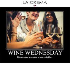 LOVE IT! #winewednesdays @L a Crema