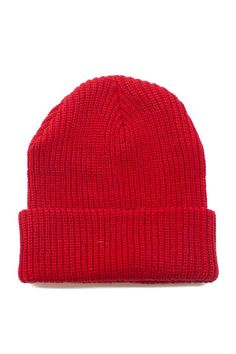Henson Beanie. The most classic beanie you'll ever have! I love the fitted shape, but you can also unroll the hem and wear it slouchy.