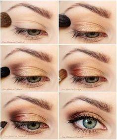 Simple eye make up, natural look // semplice trucco occhi con effetto naturale