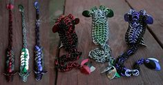 Three Itty Bitty Dragons - Chainmail Sculpture - Gallery - TheRingLord