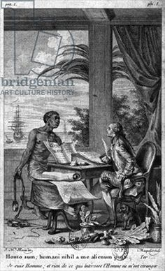 The black code, illustration from 'Voyage a l'Isle de France' by Bernardin de Saint-Pierre (1737-1814) engraved by Louis Joseph Masquelier (1741-1811) published 1773 (engraving) (b/w photo)