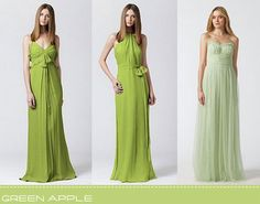 Apple Green Wedding Dresses | Green Wedding Inspiration ...