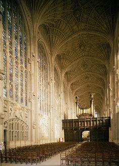 King's College Chapel, Cambridge, UK