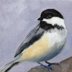 "Daily Paintworks - ""State Bird"" - Original Fine Art for Sale - © Judith Robichaud"