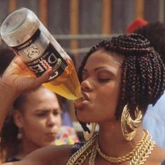 Picture of Don't Be a Menace to South Central While Drinking Your Juice in the Hood Soft Ghetto, Ghetto Fabulous, Black Girl Magic, Black Girls, Black Women, Black Girl Aesthetic, 90s Aesthetic, Badass Aesthetic, Brown Aesthetic