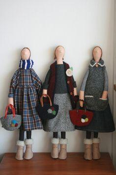 1월 아이들. : 네이버 블로그 Felt Dolls, Crochet Dolls, Doll Toys, Doll Clothes Patterns, Doll Patterns, Clothing Patterns, Dolly Mixture, Doll Tutorial, Sewing Dolls