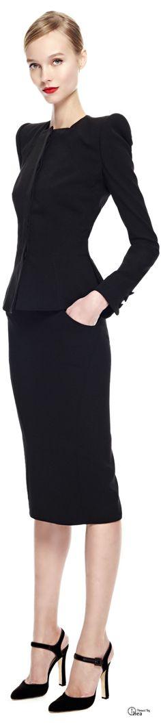 Zac Posen ● FW 2014- Tuba TANIK  Wear your #undershirt for women to keep it crisp and fresh!