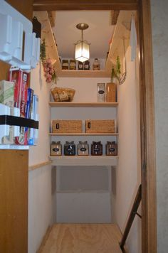 Idea To Build Pantry Using Stairs Space