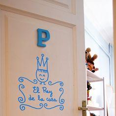 Para nuestro rey preferido ;) Vinilos decorativos para niños Chispum