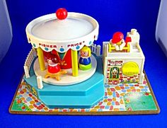 vintage toys | VINTAGE FISHER PRICE MERRY GO ROUND 1972 . . . . (Toys-Antique and ...