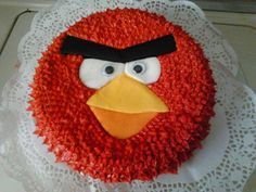 Angry Birds Cake for Claudia, July/2012.