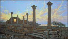 CHERSONESUS: THE GOLDEN STRINGS OF SUNSET by Badusev on DeviantArt