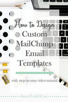 Creating beautiful MailChimp email templates doesn't have to be confusing or scary. This step-by-step video tutorial shows you exactly how to do it, walking you through the various design tools, showing you how to add HTML, and even how to schedule & send your emails.