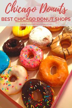 The Best Chicago Donut Shops, TRAVEL, After many years as a Chicago resident, I can tell you where to find the best donuts in Chicago. These Chicago donut shops are my favorite! Chicago Travel, Travel Usa, Travel Tips, Chicago Trip, Travel Guides, Drinking Around The World, Best Street Food, Donut Shop, Shops