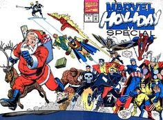 Marvel Holiday Special 1991 by Arthur Adams