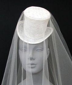 Miniature Top Hat Cocktail hats custom hats Bridal races special occassion women's custom hats millinery Gena Conti Michigan USA