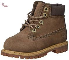 Timberland 6 In Prem WP Garçon US 7.5 Vert Botte - Chaussures timberland (*Partner-Link)